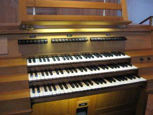 Spieltisch Orgel bis 2012
