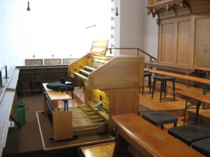 Spieltisch Orgel bis 2014